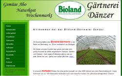 Bioland Gärtnerei Dänzer - Germannsweiler Backnang - Germannsweiler
