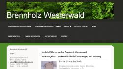Brennholz Westerwald Rothenbach