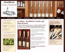 Destillerie Obstbau Kerner  Dettingen